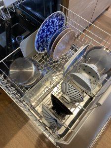 ミーレ食洗機庫内の下段