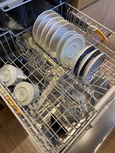 ミーレ食洗機の庫内中段