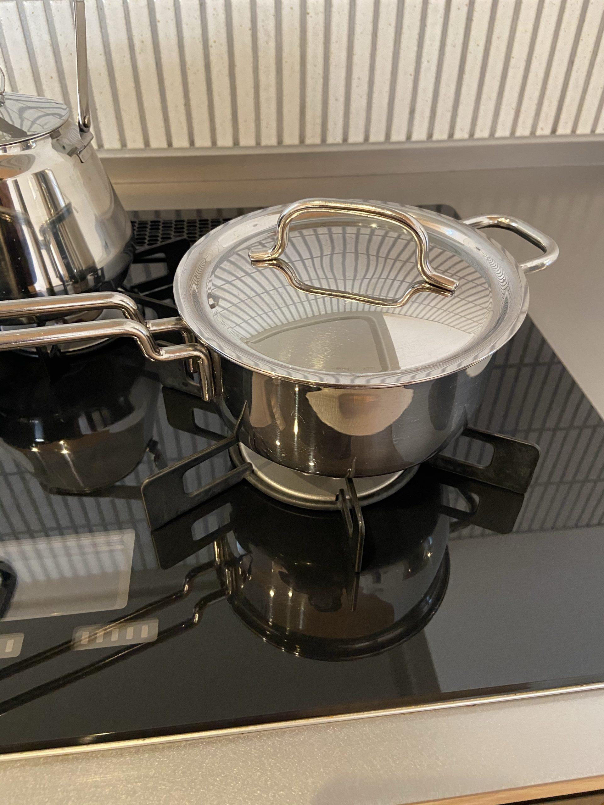 ジオプロダクトの片手鍋