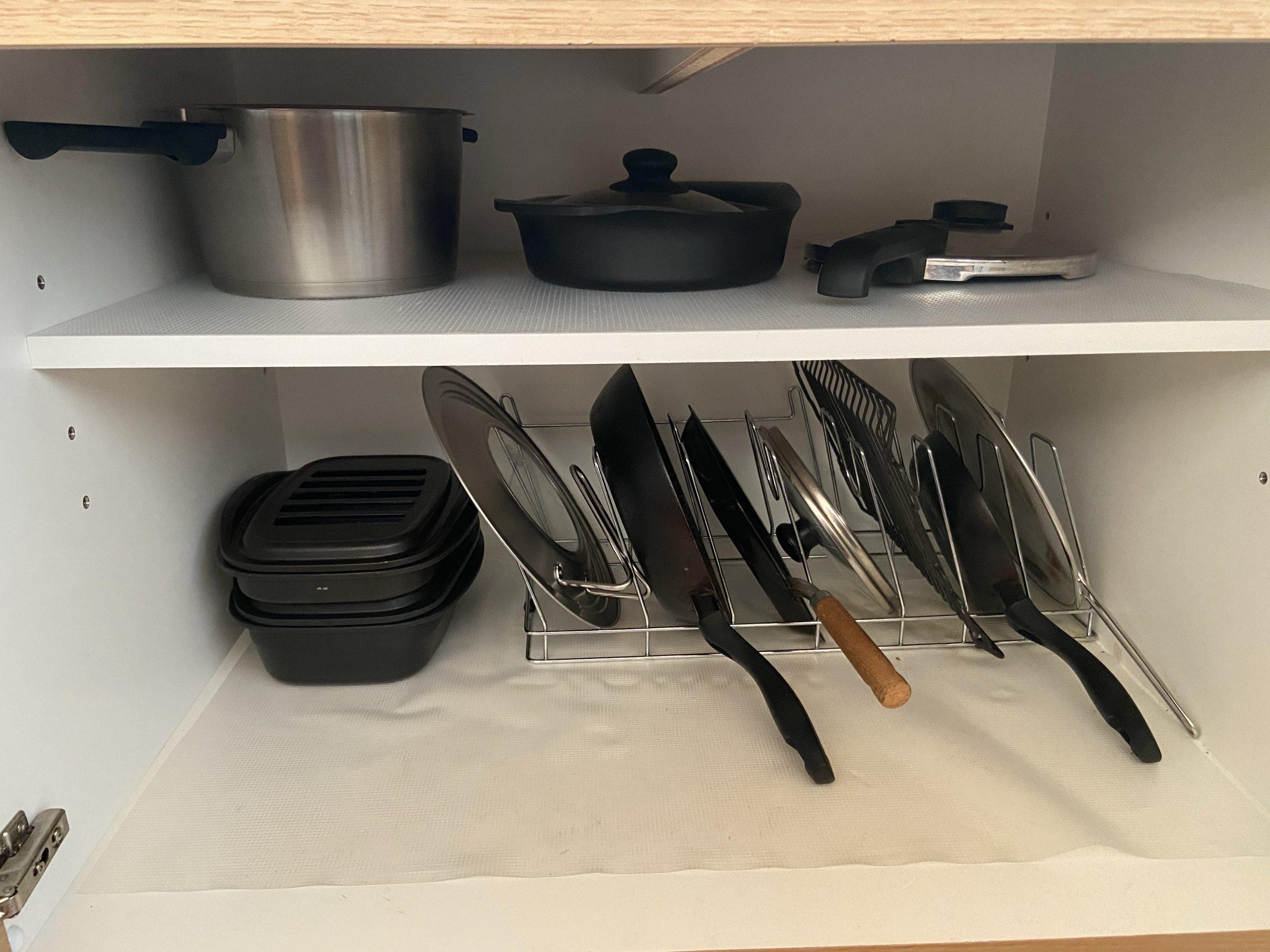 キッチンの鍋やフライパン収納