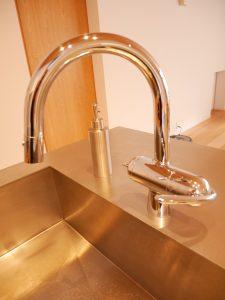 グローエの浄水器付きの水栓