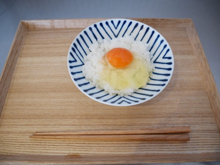 美味しい蘭王卵かけご飯