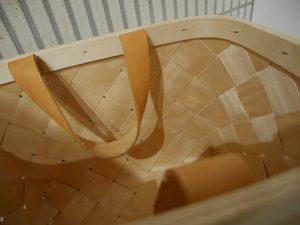 ベルソデザインのバスケットの持ち手