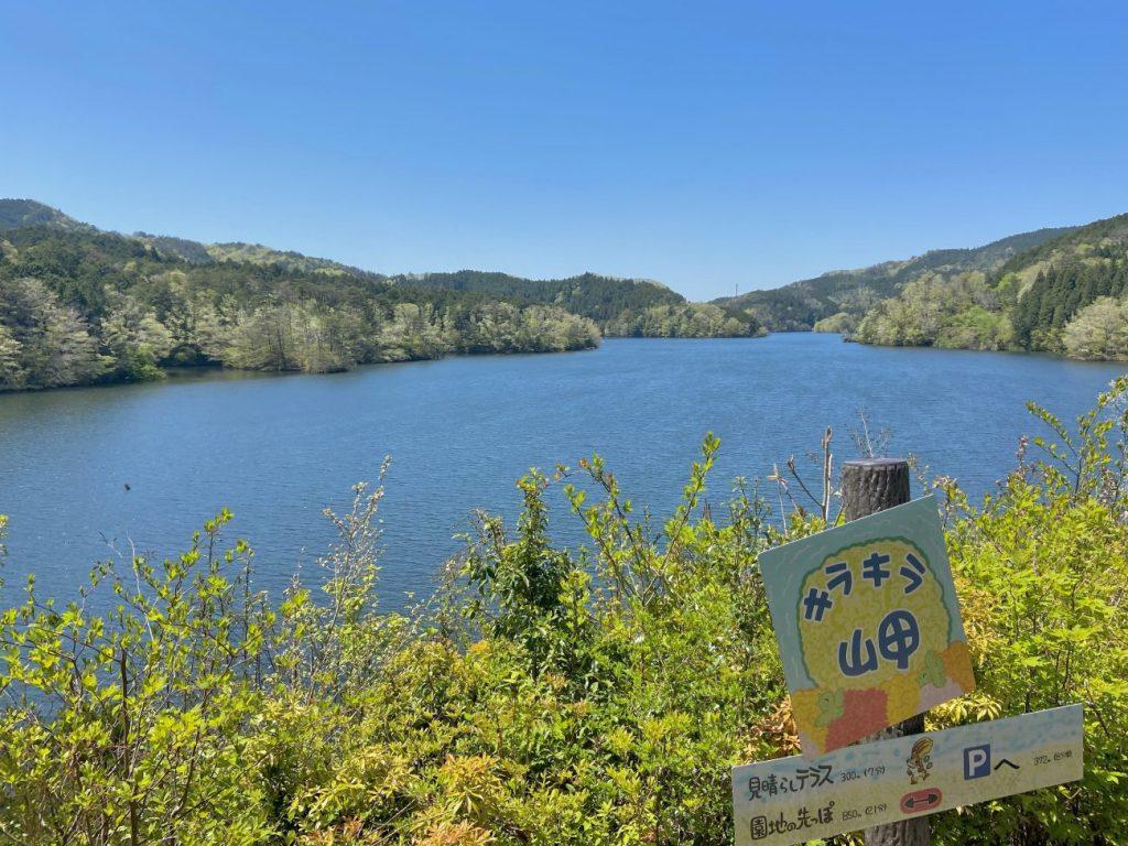 三河湖園地のキラキラ岬